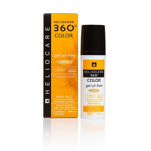 Heliocare 360 Color Oil Free Gel Pearl - Face Aesthetic Clinic